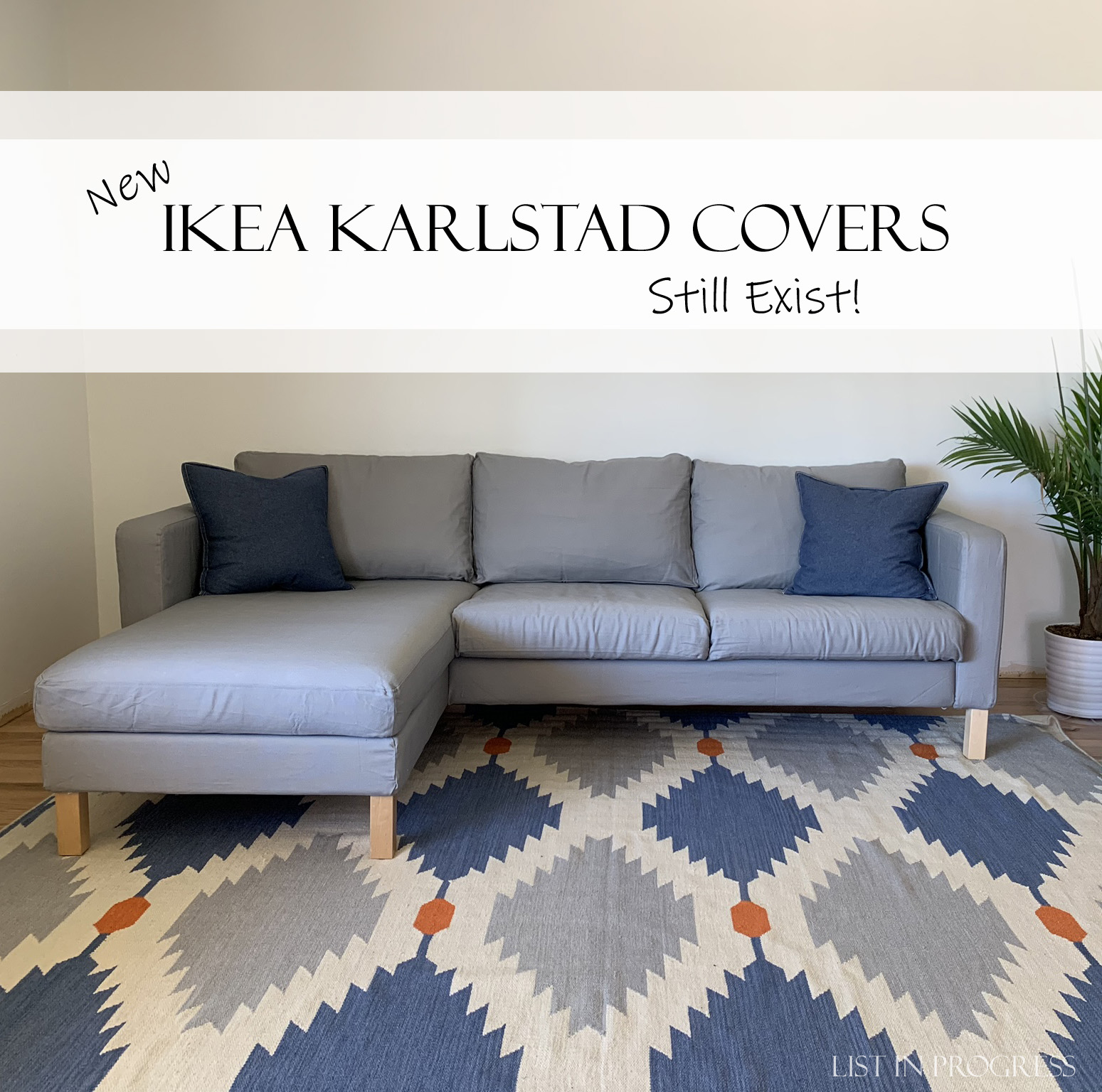 Cool An Ikea Karlstad Couch Cover Saves The Day List In Progress Gmtry Best Dining Table And Chair Ideas Images Gmtryco